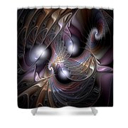 Nocturne For New Orleans Shower Curtain