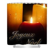 Noel Lumineux Shower Curtain