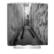 Noho Alleyway Shower Curtain