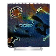 Noize Shower Curtain