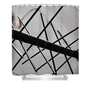 Nola Security 3 Shower Curtain