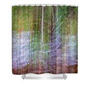 Noland Creek Abstract 1 Shower Curtain
