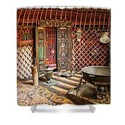 Nomad Yurt Shower Curtain