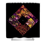 Non Ex Nihilo Sed Ab Infinitate Shower Curtain by Eikoni Images