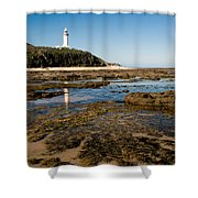 Norah Head Lighthouse Shower Curtain