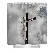 Nordic Female Jesus Shower Curtain