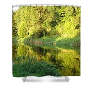 Nore Reflections II Shower Curtain