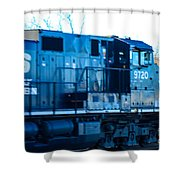 Norfolk Southern Engine 9720 Shower Curtain