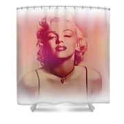 Norma Jeane Mortenson, Aka Marilyn IIi Shower Curtain