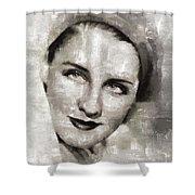 Norma Shearer, Actress Shower Curtain