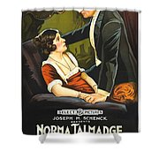 Norma Talmadge In The Probation Wife 1919 Shower Curtain