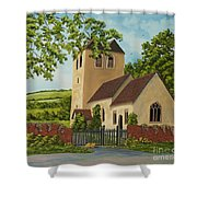 Norman Church In Fingest Shower Curtain