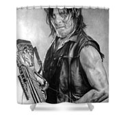 Norman Reedus Shower Curtain