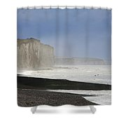 Normandia Falesie Shower Curtain