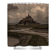 Normandy Clouds Shower Curtain