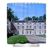 Normandy Manor House Shower Curtain