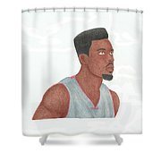 Norris Cole Shower Curtain by Toni Jaso