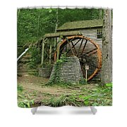 Rice Grist Mill II Shower Curtain