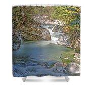 Norrish Creek Shower Curtain