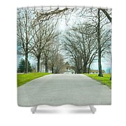 Norristown Farm Park Over The Rise Shower Curtain