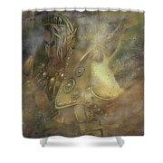 Norse Warrior Shower Curtain