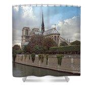 Norte Dame De Paris Shower Curtain