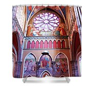 North Aisle - Sanctuary In Osijek Cathedral Shower Curtain