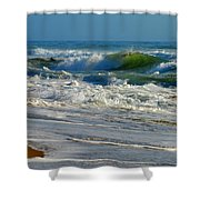 North Atlantic Splendor Shower Curtain