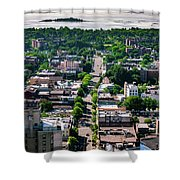 North Ave New Rochelle Shower Curtain
