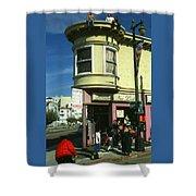 North Beach San Francisco Shower Curtain