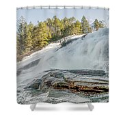 North Carolina - Dupont State Forest - Waterfall Collection Shower Curtain
