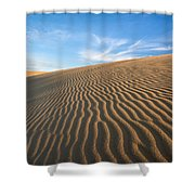 North Carolina Jockey's Ridge State Park Sand Dunes Shower Curtain