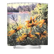 North Channel Beauties Shower Curtain