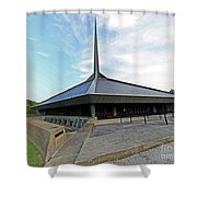 North Christian Church, Columbus, Indiana Shower Curtain