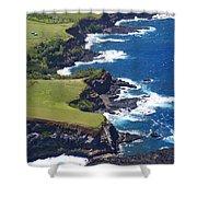 North Coast Of Maui Shower Curtain