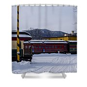 North Conway Nh Scenic Railroad Shower Curtain