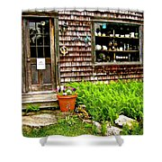 North Country Antiques Shower Curtain