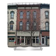 North Country Main Street Of Gouverneur, New York Shower Curtain