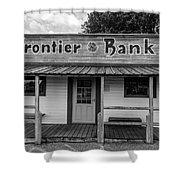 North Dakota Frontier Bank Shower Curtain