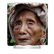 North East India Shower Curtain