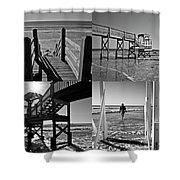 North End Moments Shower Curtain