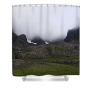 North Face Shower Curtain