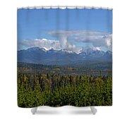 North Fork Autumn Shower Curtain