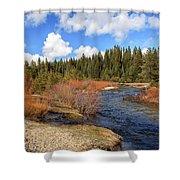 North Fork Deer Creek Shower Curtain