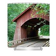 North Fork Yachats Bridge 2 Shower Curtain