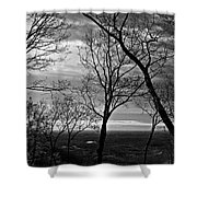 North Georgia View  Shower Curtain
