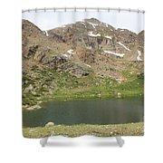 North Halfmoon Lake 2 Shower Curtain