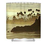 North Laguna Beach Shower Curtain