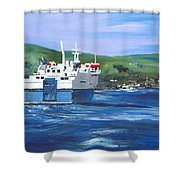 North Link - Stromness Shower Curtain