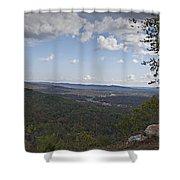 North Mountain Overlook  Shower Curtain